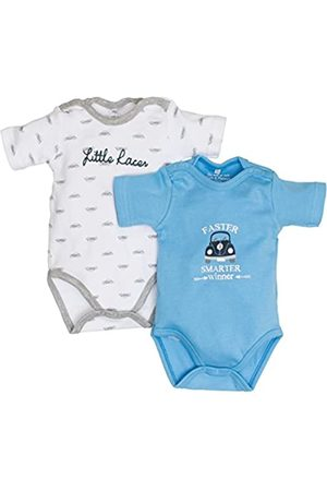 Salt & Pepper Salt and Pepper Baby Boys' NB Body Set Racer Bodysuit