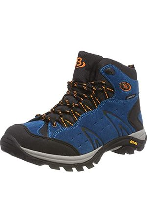 Bruetting Men's Mount Bona High Rise Hiking Shoes, ( /Schwarz/ /Schwarz/ )