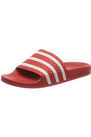 adidas Men's Adilette Gymnastics Shoe, Lush /Ftwr /Lush