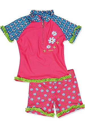 Playshoes Baby-Girls UV Sun Protection Swim Diaper Roses Swim Nappy