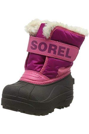 Sorel Unisex Kid's Toddler Snow Commander Boot, Tropic , Deep Blush