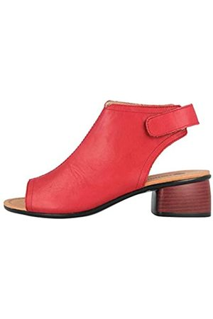 Remonte Women's R8770 Closed Toe Sandals, (Rosso 33)