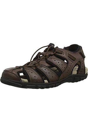 Geox Men's Uomo Sandal Strada B Closed Toe, ( C0013)