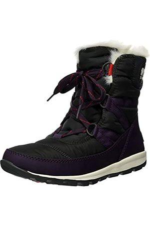 sorel Women's Whitney Short LACE Snow Boots, , ( (Dark Plum 506))