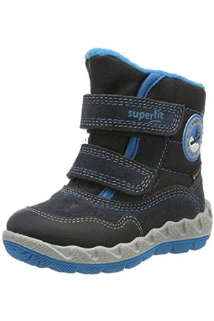 Superfit Boys' Icebird Snow Boots, (Grau/Blau 20)