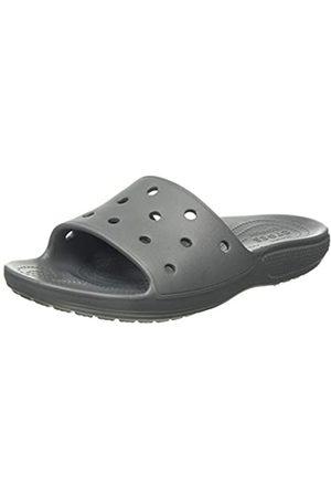 Crocs Unisex Adult's Classic Slide Open Toe Sandals, (Slate 0da)