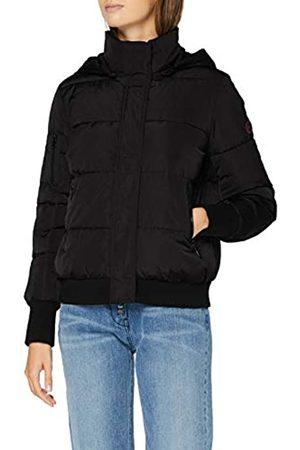Armani Women's 3 Zip Pocket Coat Bomber Jacket