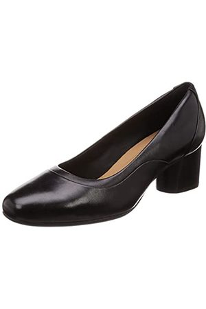 Clarks Women's Un Cosmo Step Closed-Toe Pumps, ( Leather Leather)