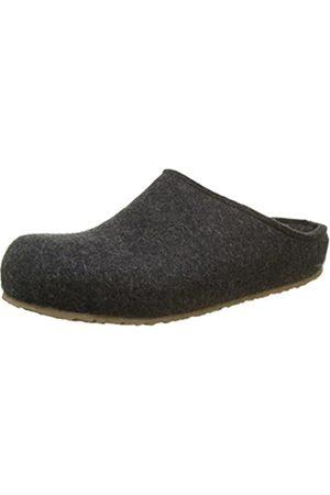 Haflinger Michel, Unisex Adults' Unlined low house shoes, (graphit 377)