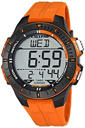 Calypso Unisex Digital Watch with LCD Dial Digital Display and Plastic Strap K5607/1