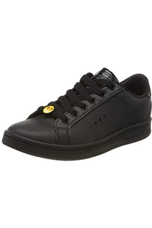 Skechers Girls' Omne Class Star Trainers, ( Dura Leather BBK)