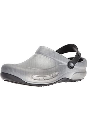 Crocs Unisex's Bistro Graphic Clog, (Metallic )