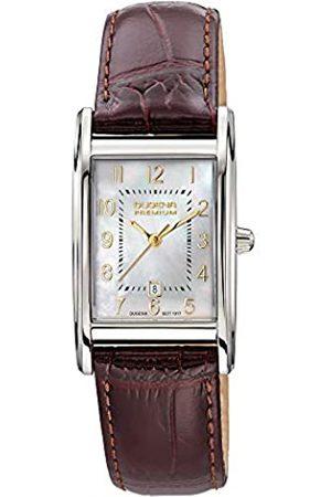 DUGENA Women's Analogue Quartz Watch with Leather Strap 7000162-1