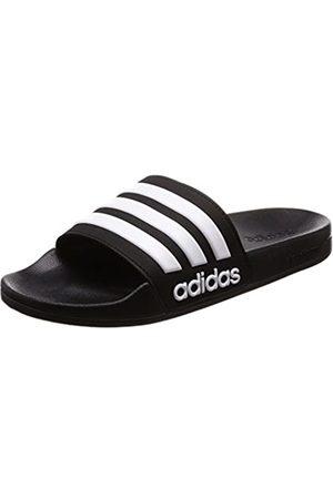 adidas Men's Cloudfoam Adilette Beach Flip Flops, (Core /Footwear )