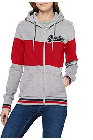 Superdry Women's V Logo Chainstitch Patch Ziphood Hoodie