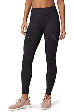 AURIQUE Amazon Brand - Women's Seamless Sports Leggings, 16