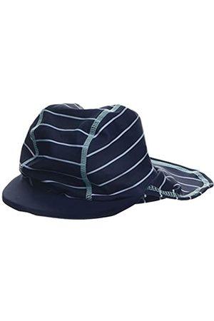 Mothercare Boy's Navy Striped Keppi Hat
