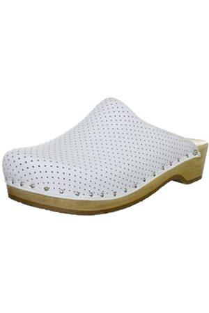 Berkemann Standard-Toeffler, Unisex - Adults Clogs & Mules Clogs, (Weiß 100)