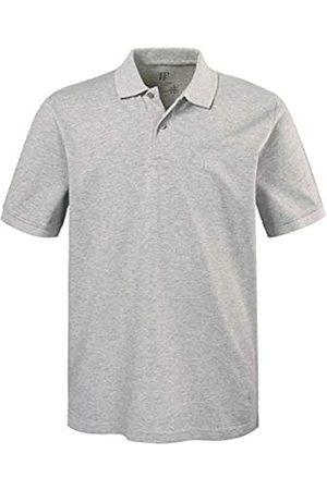 JP 1880 Men's Big & Tall Classic Cotton Pique Polo Shirt Gray-Melange XXX-Large 702560 12-3XL