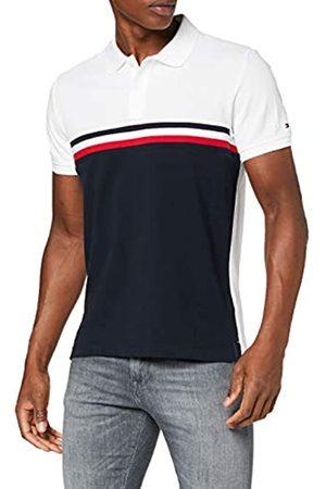 Tommy Hilfiger Men's GS Insert Colorblock Slim Polo Shirt, ( /Multi 0A4)