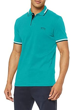 BOSS Men's Paul Curved Polo Shirt