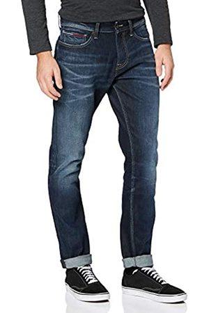 Tommy Jeans Men's Scanton Heritage Slim BRNTDK Straight Jeans