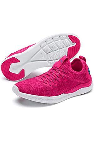 Puma Women's Ignite Flash Irides TZ WNS Competition Running Shoes, (Fuchsia -Caribbean Sea)