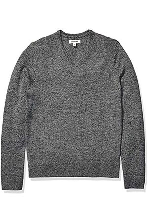 Goodthreads Supersoft Marled V-neck Sweater Charcoal