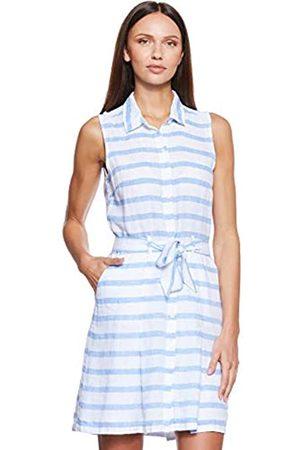 Tommy Hilfiger Women's Hillary Dress Ns Knee-Length Striped Not Applicable Sleeveless Dress