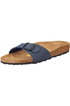 Birkenstock Madrid, Unisex-Adults Sandals, (Navy)