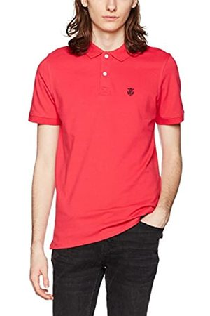 Selected HOMME Men's Shharo Ss Embroidery Polo Noos T-Shirt, (Rose )