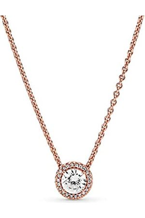 PANDORA Women Silver Pendant Necklace - 386240CZ-45