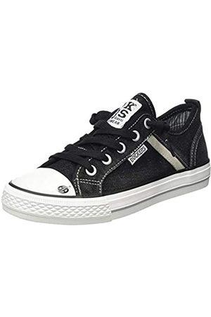Dockers Unisex Kids' 46kk601-730100 Low-Top Sneakers, (Schwarz 100)