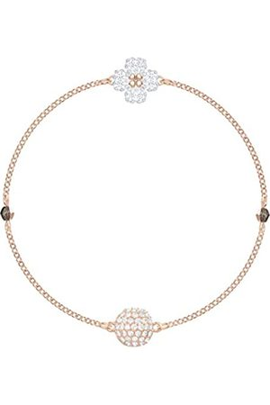 Swarovski Women's Rose-gold tone plated Remix Collection Clover Strand 5375185