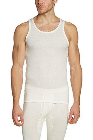Susa Men's Angora Unterhemd s8010040 Plain Sleeveless Themal Top