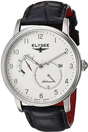 ELYSEE Unisex Adult Analogue Automatic Watch with Leather Strap 77015.0