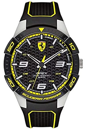 Scuderia Ferrari Mens Analogue Classic Quartz Watch with Silicone Strap 0830631