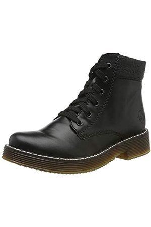 Rieker Women's Herbst/Winter Ankle Boots, (Schwarz/Schwarz 00)