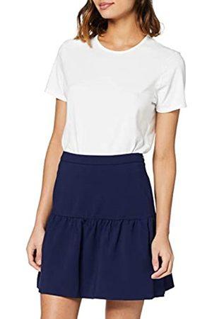Tommy Hilfiger Women's Imogen Short Skirt Bikini Top, (Peacoat)