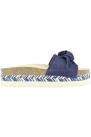Yokono Women's Itaca Serraje Flip Flops, (Marino 006)