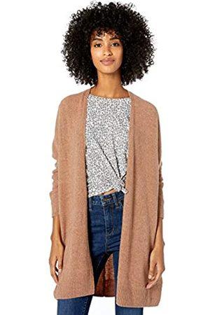 Goodthreads Mid-gauge Stretch Cocoon Sweater Caramel Heather
