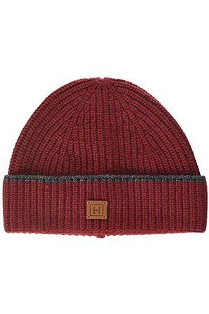 Hackett London Men's Rib Tip Beanie (Port 281)