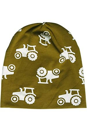 Fred's World by Green Cotton Boy's Tractor Beanie Hat