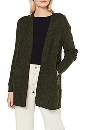 Pieces Women's Pcella Ls Wool Knit Cardigan