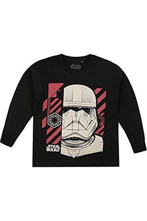 Star Wars Boys' Trooper Chevron Long Sleeve T-Shirt