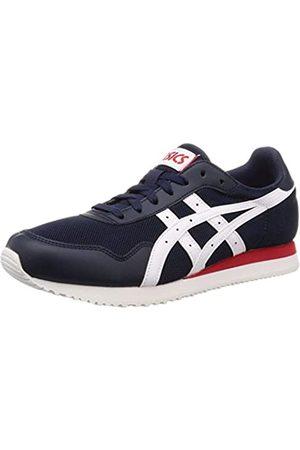 ASICS Men's Tiger Runner Running Shoes, (Midnight/ 400)