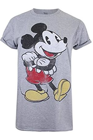 Disney Women's Mickey Vintage T-Shirt, (Sport Spo)