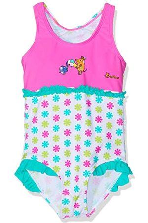 Playshoes DIE MAUS Girl's UV-Schutz Badeanzug DIE MAUS Blumen Swimsuit
