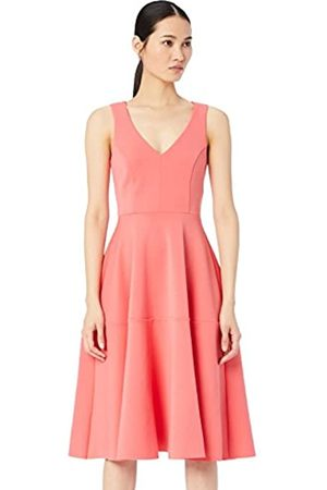 TRUTH & FABLE Amazon Brand - Women's Dress Midi Prom, 12