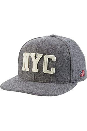 Schott NYC SCHOTT Men's Capwool Baseball Cap, (Heather 91)